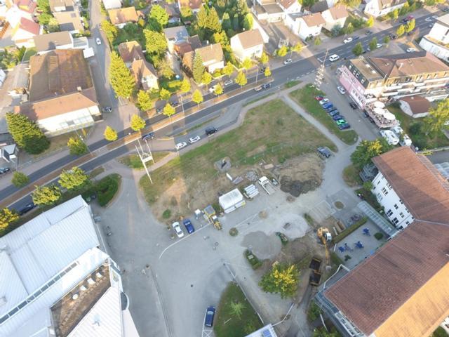 Luftbild Baufeld